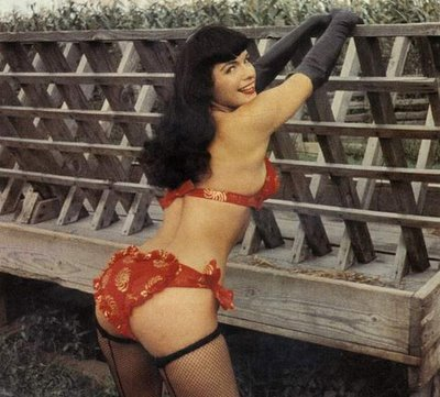 The notorious bettie page sex