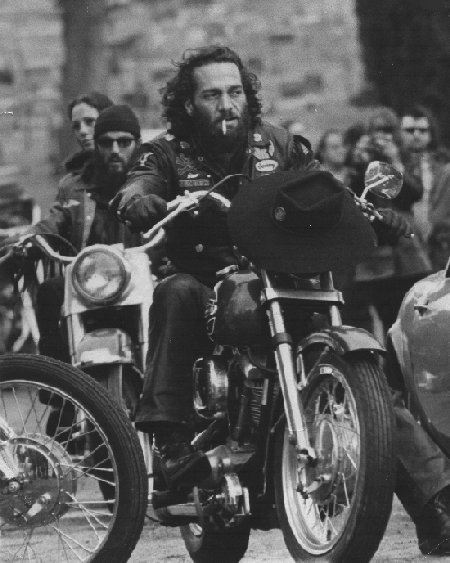 ARCHIVE - One Percent Biker Gangs of the 1950's - fifties  Sonny Barger Hells Angels 1970